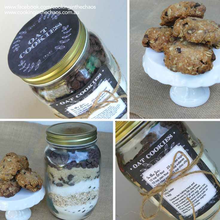 Cookies in a Jar - Including FREE printables - Cooking in the Chaos