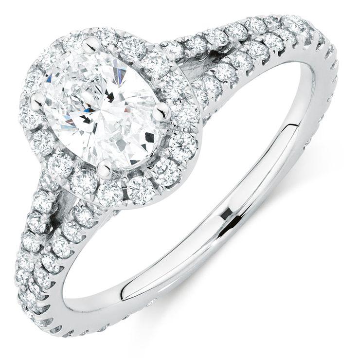 1 1/2 CARAT TW DIAMOND AMOROSO RING I want this.