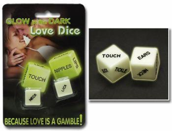 Dadi dell'amore fosforescenti Gadget - Idee Regalo http://www.preservativi.it/cgi-bin/prodotto.cgi?id=250 #dadi #giochi #giochierotici #idearegalo #luminescente #fosforescente #erotico #sexyshop