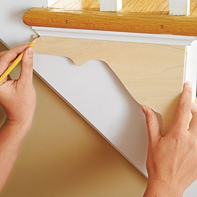 Photo: Ryan Benyi | thisoldhouse.com | from How to Add Shapely Stair Brackets