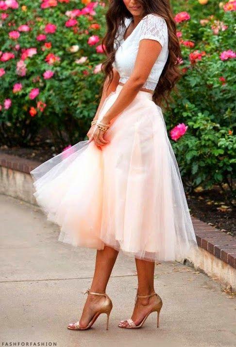 QUIERO UNA BODA PERFECTA: ¡Faldas de tul ideales para una invitada perfecta!