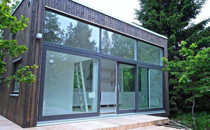 Attefallhus - #modulhus #attefallshus #sommarhus #fritidshus #gästhus #skandinaviskarkitektur #skandinaviskdesign