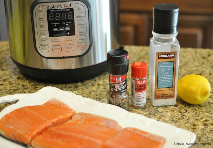 Gather your ingredients for your salmon instant pot for Instant pot fish recipes