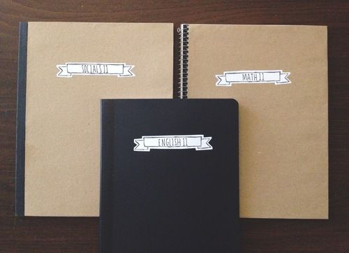 Book Cover Black Label : Diy notebook cover printable label stay motivated