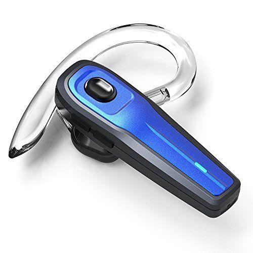 Bluetooth Headset, [New Version]V4.1 Drahtlos Kopfhörer Bluetooth Ohrhörer mit Mikrofon, Rauschunterdrückung Funk-kopfhörer für LKW-Fahrer, Wireless Headset für iPhone Android Handys Hörmuschel #Bluetooth #Headset, #[New #Version]V. #Drahtlos #Kopfhörer #Ohrhörer #Mikrofon, #Rauschunterdrückung #Funk #kopfhörer #für #Fahrer, #Wireless #Headset #iPhone #Android #Handys #Hörmuschel