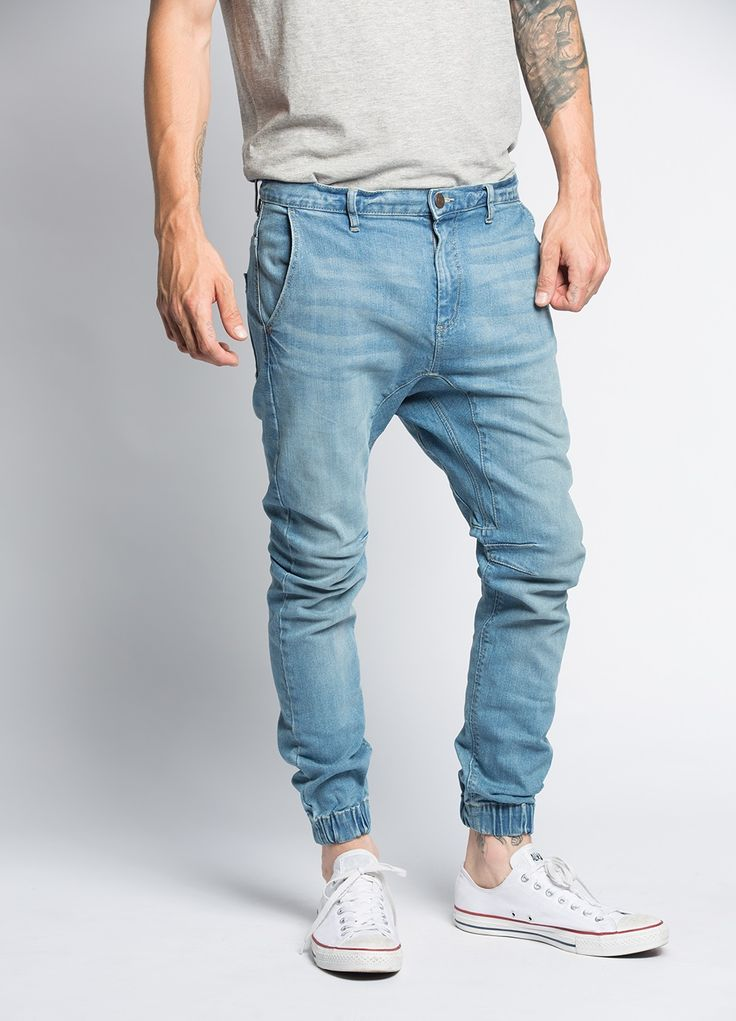 25  best ideas about Denim joggers mens on Pinterest | Boys jogger ...