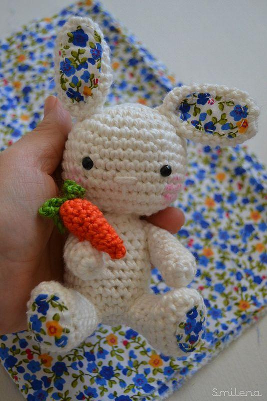 s m İ l e n a..: Amigurumi tavşan-Amigurumi crochet Rabbit