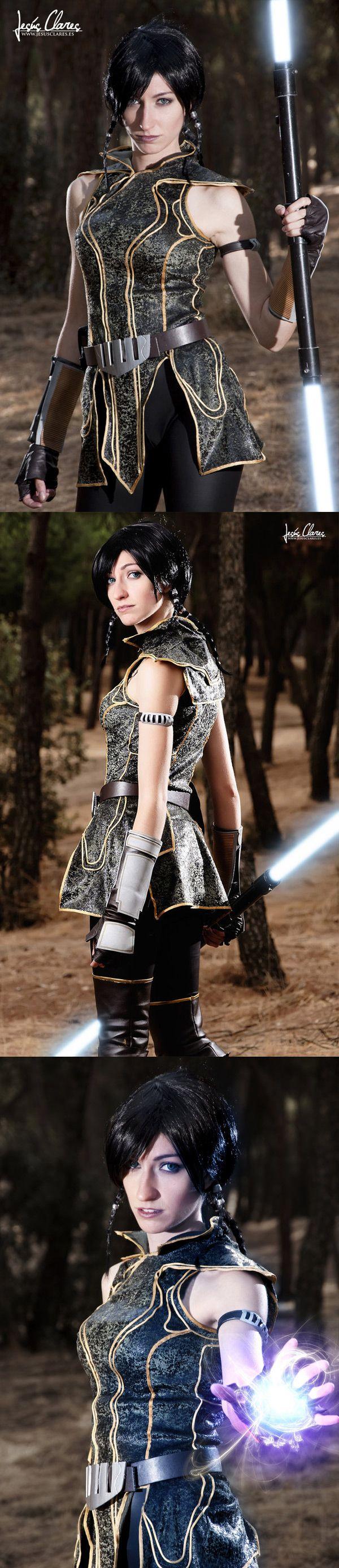 Satele Shan from Star Wars Old Republic and Mass Effect | Cosplayer: Shanoa Nebulaluben photo: Hidrico