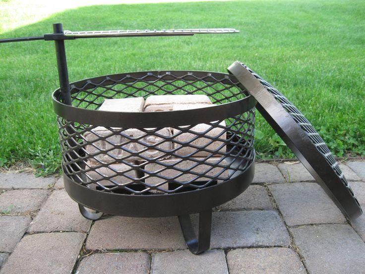 DIY Movable Fire Pit | Fire pit, Fire pit backyard ...
