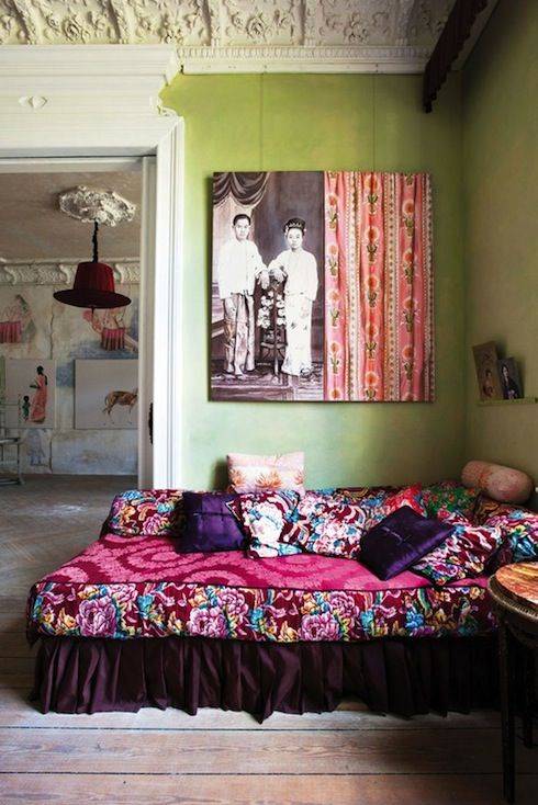 Bohemian Bedrooms Colorful Boho Chic Vintage Bedroom Furniture And Decorating Ideas