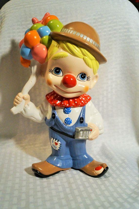 Midget clown statue babysitter