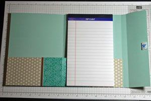 Splitcoaststampers - Tutorials (File Folder Notebook)