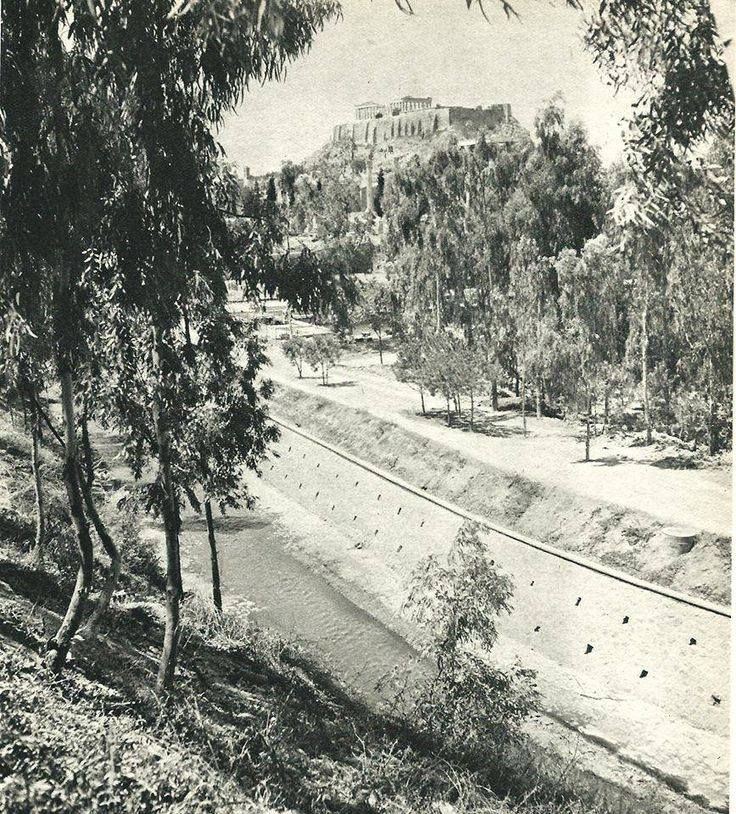 1940 ~ Ilissos river, Athens