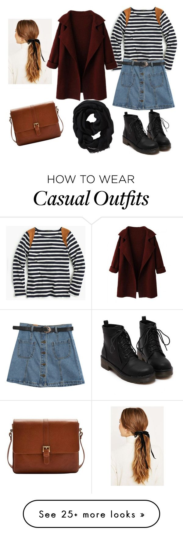 """Casual 1"" by thinladybird on Polyvore featuring moda, J.Crew, Chicnova Fashion, Joules e Old Navy"