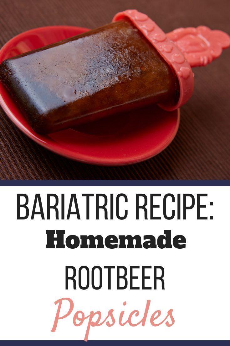 Sugar Free Root Beer Ice Pops In 2020 Clear Liquid Diet Bariatric Recipes Liquid Diet