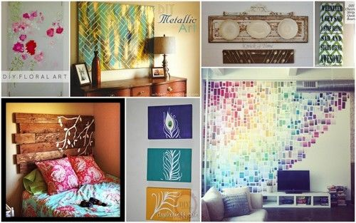 7 Frugal DIY Wall Art Ideas