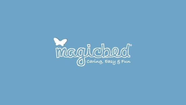Magicbed by Magicbed. Magicbed, le petit lit magique qui se déplie instantanément et se replie en 2 secondes.