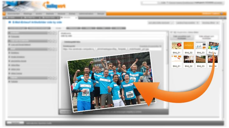 Der mailingwork #Newsletter-Editor punktet mit hoher Benutzerfreundlichkeit und einem besseren Workflow. Newsletter erstellen mit wenigen Klicks.