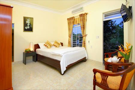 Check out this awesome listing on Airbnb: Double Room with Strawberry Garden in tp. Hội An