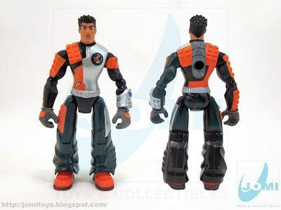 JoMi toys: Action Man Atom figure - Jet-Mech Axel