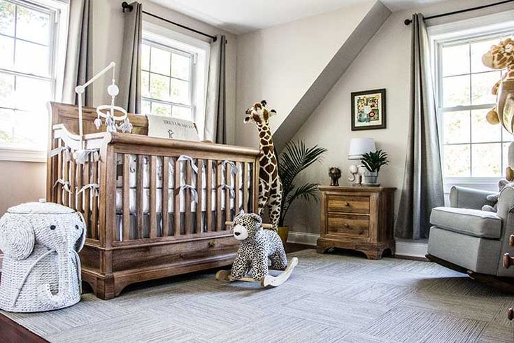 In The Nursery With Veronika S Blushing Project Nursery Neutral Kids Bedroom Nursery Baby Room Baby Room Neutral