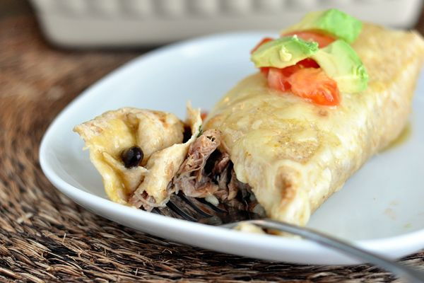 Sweet Pork Burritos. It's simple. It's uncomplicated. It's delicious.