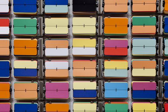 Rebecca Baumann, 'Automated Colour Field' (2010)