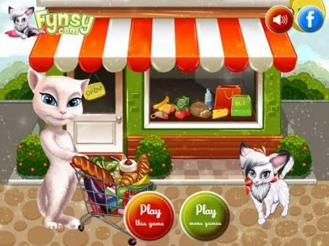 Talking Angela Great Shopping - Game Tutorial 2016