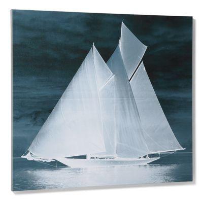 """$250  Midnight Vessel Artwork (62983): 40""""W x 36""""H, 8 lbs.Midnight Vessel Artwork"""