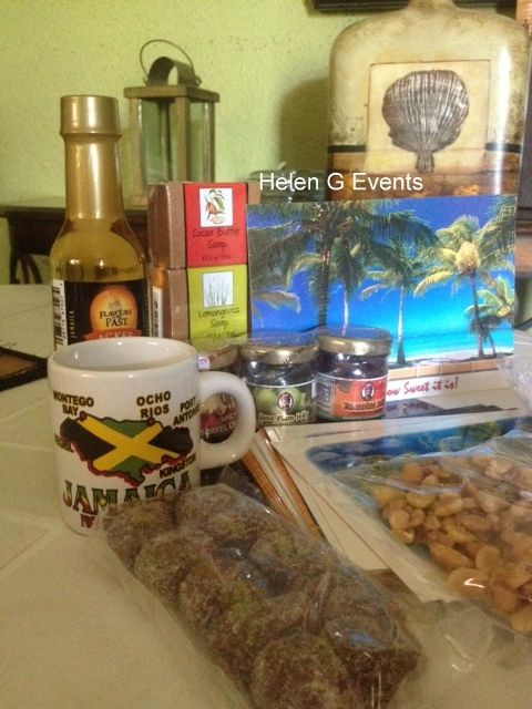 Jamaican Welcome Bag and Basket items. Baskets and Bags can be ordered ...
