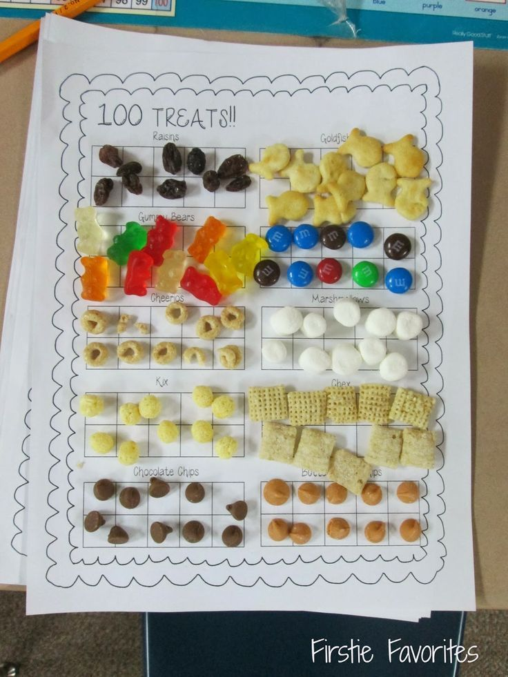 100th Day snack!