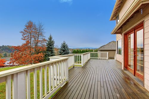 Thinking about investing in a #deck that requires no maintenance? Consider either PVC decking or composite decking. http://goo.gl/bwFJV8