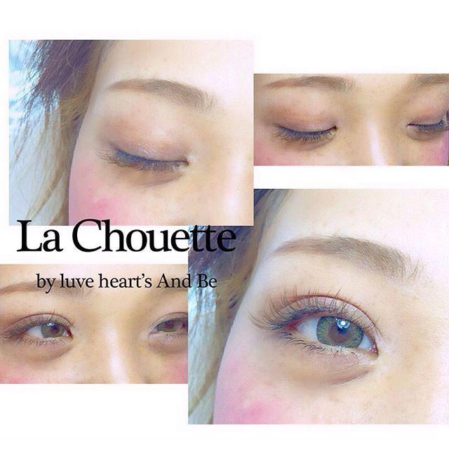 . お客様アイラッシュ** . LaChouetteアイラッシュは 高い技術のスタッフばかりなので 安心、安全です♡ . エクステ初めてのお客様も 安心してご来店ください(*^_^*) . 初めてのお客様は初回50%オフ♡ . LaChouette 0661315100 . #lachouette#マツエク#まつげエクステ#カラーエクステ#メイク#eyelash#eyelashs#おフェロ#makeup#make#メイクアップ#おしゃれ#デザイン
