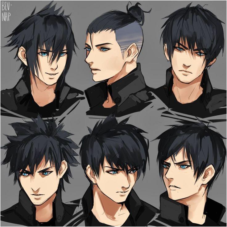 Hairstyles Anime Girls In 2020 Anime Hairstyles Male Manga Hair Anime Hair