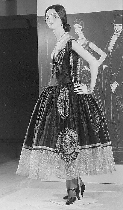 Robe de Style, Jeanne Lanvin, spring/summer 1924