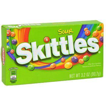 Sour Skittles, 3.2-oz. Box