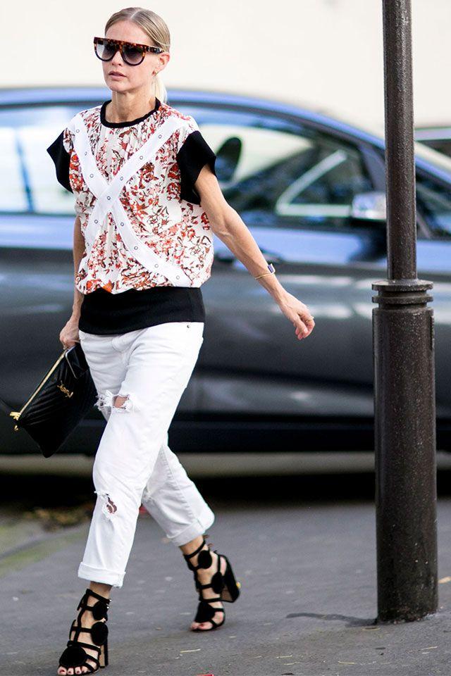 Fashion Week In Paris Spring Summer 2017 Street Style Part 1 11 Photos Style Pinterest