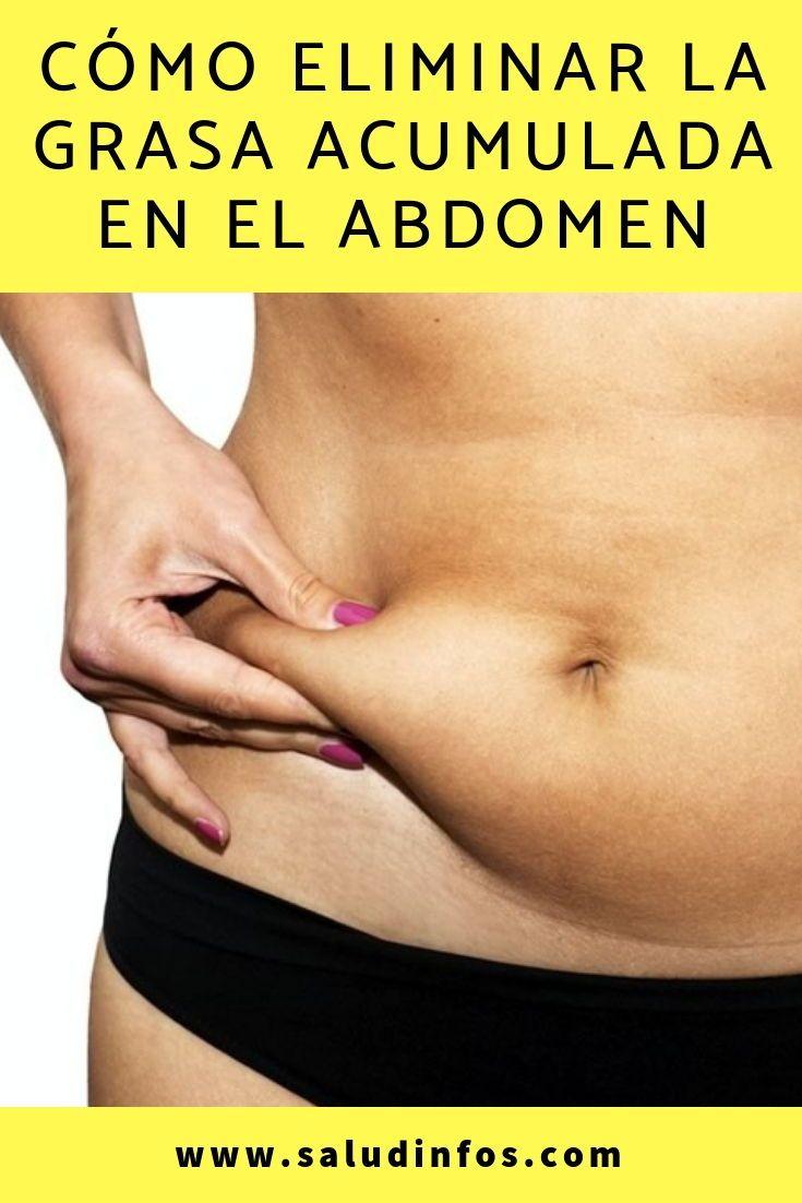 quemar grasa acumulada abdomen