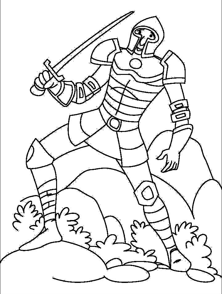 Knights Laugh Coloring Pages For Kids Printable Castles And
