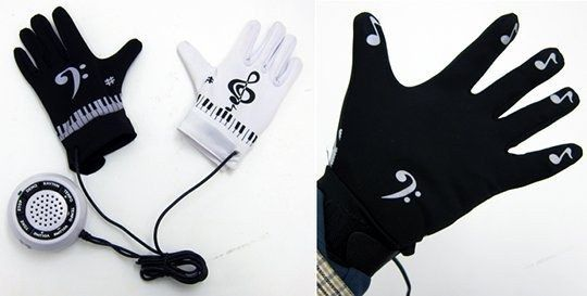 These gloves that turn any surface into a piano. | 19 Unexpected Ways To Display Your Love Of Classical Music