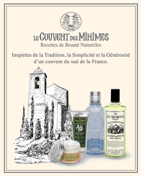 1000 images about nos marques on pinterest gosh for Le couvent des minimes parfum