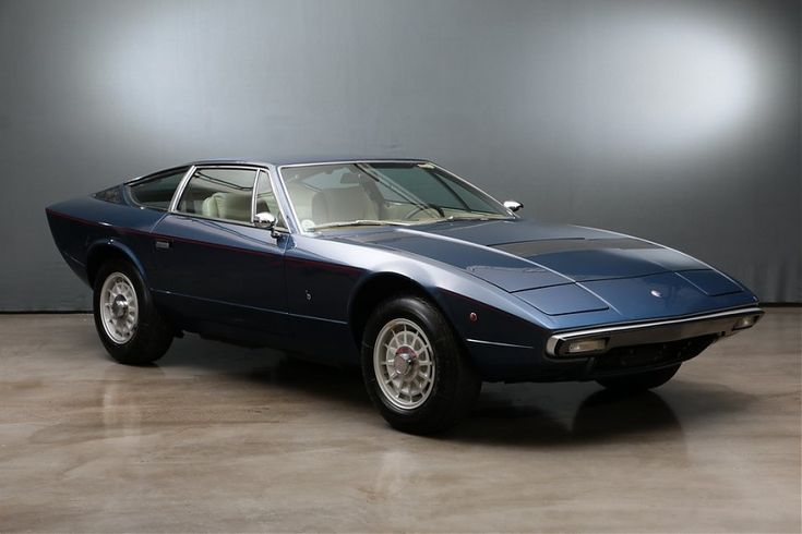 1975 Maserati Khamsin - AM 120 2+2   Classic Driver Market