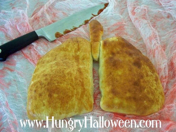 Cute Food For Kids?: 29 Creepy, Spooky, Scary, Gross and Disgusting Halloween RecipesHalloween Parties, Hungry Halloween, Halloween Recipe, For Kids, Lungs Calzone, Cookies Recipe, Halloween Food, Hungry Happen, Calzone Madeira