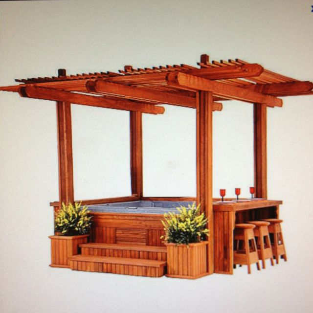 Like the bar on the side but change the finish/color of the whole thing. Needs an ice trough for cold drinks!