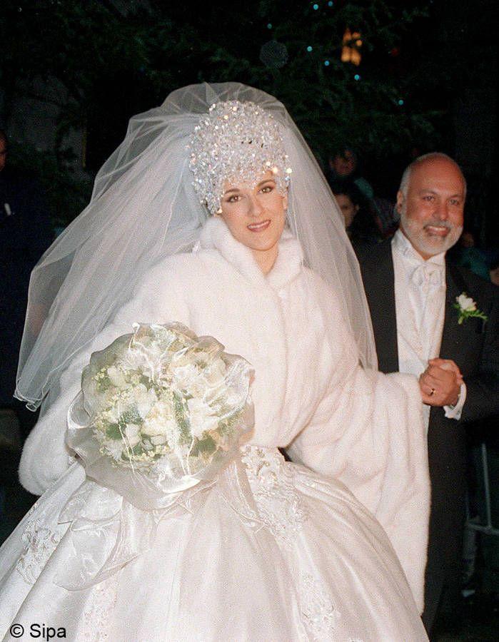 Le mariage Céline Dion et René Angélil / Les meilleures photos de mariage de stars
