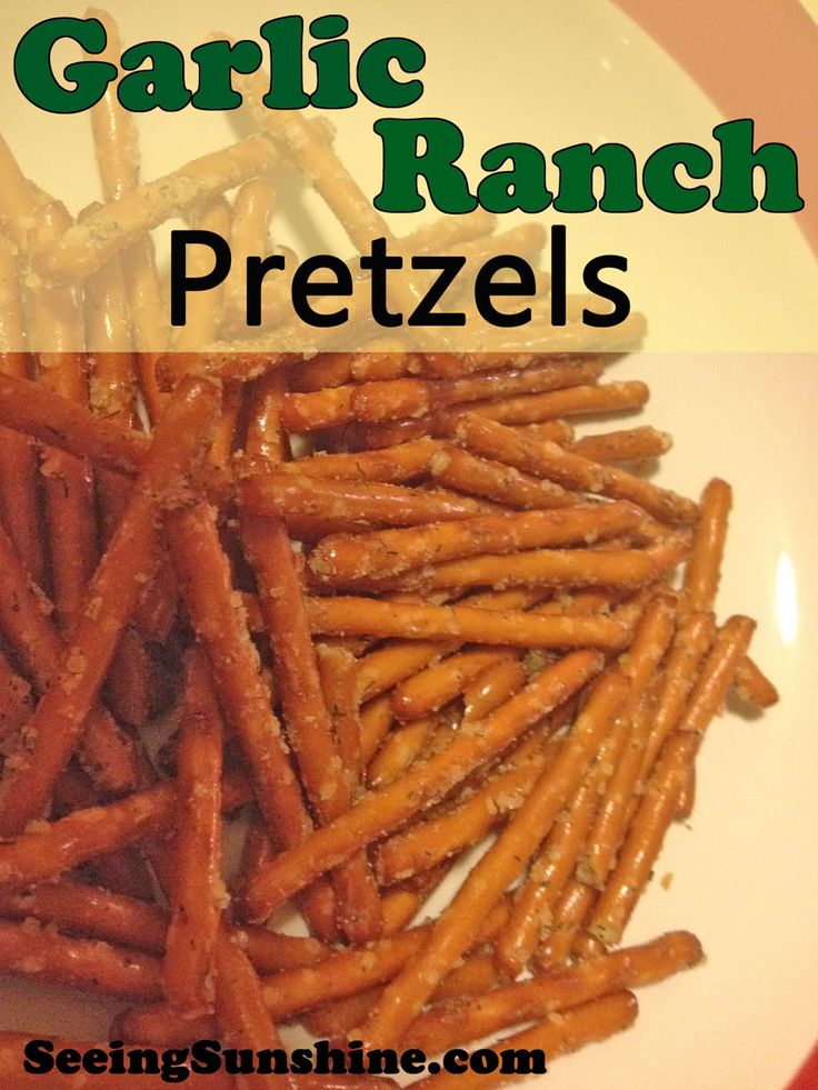 Looking for something new to munch on while playing games with family or maybe to take during traveling for the holidays? Try this easy recipe for flavorful Garlic Ranch Pretzels!