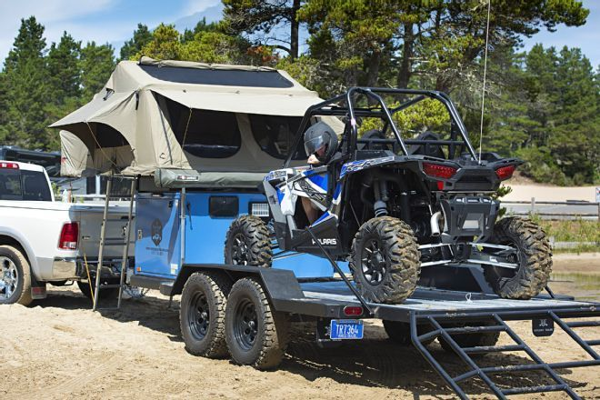 Off-road Tent Trailers Make Extended 44 Outings Comfortable