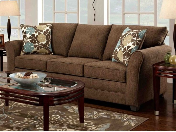 1000 ideas about dark brown couch on pinterest brown for Brown taupe living room