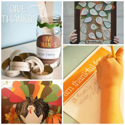 Attitude of Gratitude: 18 Thankful Crafts and Activities for Kids