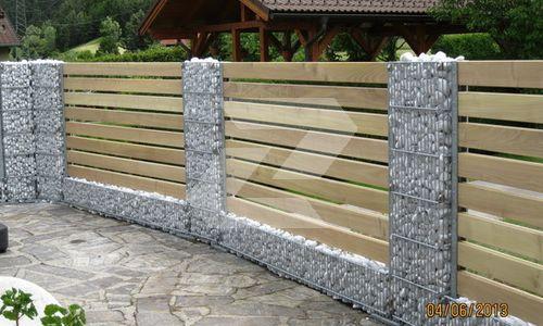 34 best Gartenzäune images on Pinterest Garden fences, Garden - sichtschutzzaun aus kunststoff gute alternative holzzaun